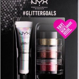 NYX glitter goals in GLISET02 NWT